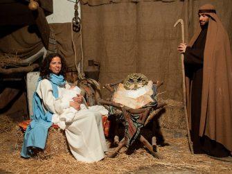 The Living Nativity recreates Bethlehem in Spain