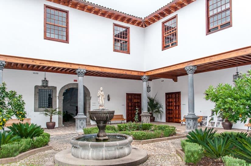 Casa Salazar a cultural spot in La Laguna, Tenerife