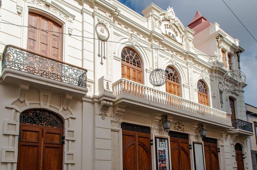 Teatro Leal in La Laguna, Tenerife