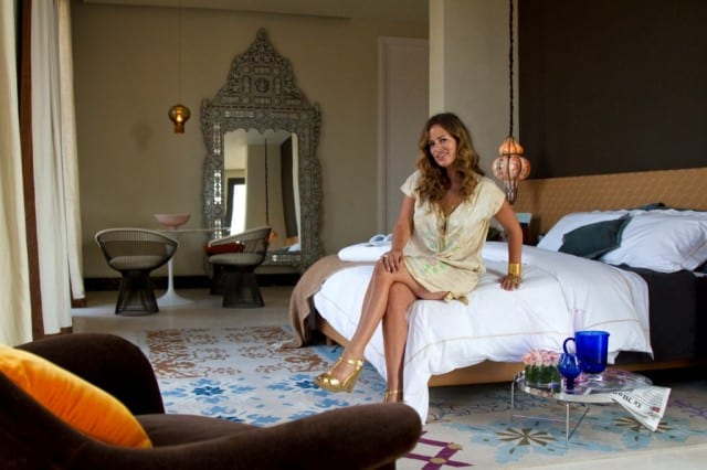 Fractional property at The Residences Baglioni, Marrakesh designed by Jade Jagger