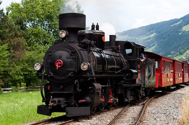 Zillertal Steam Railway, Austria