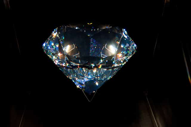 Centenar, the world's largest crystal at 300,000 carats, Swarovski Kristallwelten, Austria