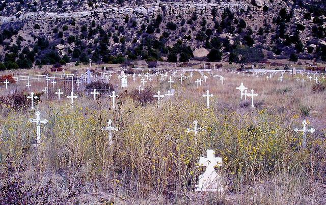 Dawson ghost town New Mexico, America