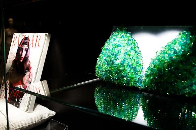 From bras to Harpers Bazaar, Swarovski Kristallwelten, Austria