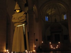 Blindfold, church and dinner… it must be Antequera