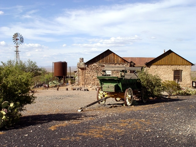 New Mexico ghost town Shakespeare where Billy the Kid once reigned