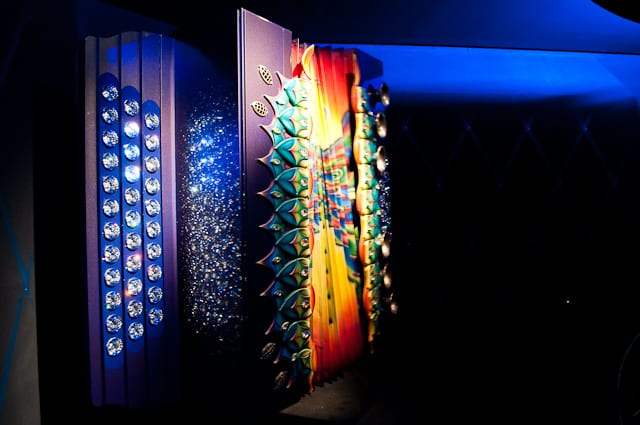 The Swarovski Giant's encrusted accordian, Swarovski Kristallwelten, Austria