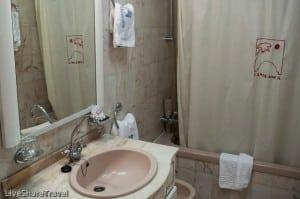Bathroom in an apartment at Club Casablanca a timeshare resort in Puerto de la Cruz Tenerife