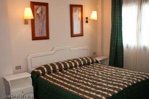 Bedroom at Club Casablanca a timeshare resort in Puerto de la Cruz Tenerife