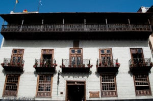 Casa de los Balcones, La Orotava, in the north of Tenerife