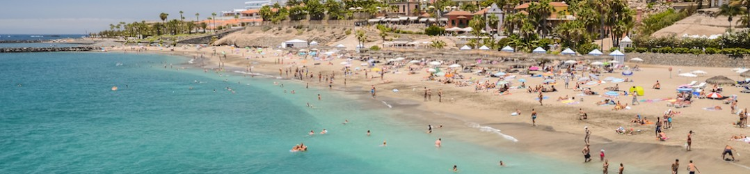 The best beaches in Tenerife include Del Duque Beach