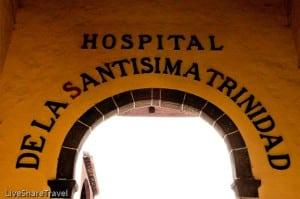 Hospital de la Santisima Trinidad was built in 1519, La Orotava, Tenerife
