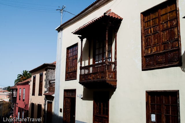 House with wooden balcony, La Orotava