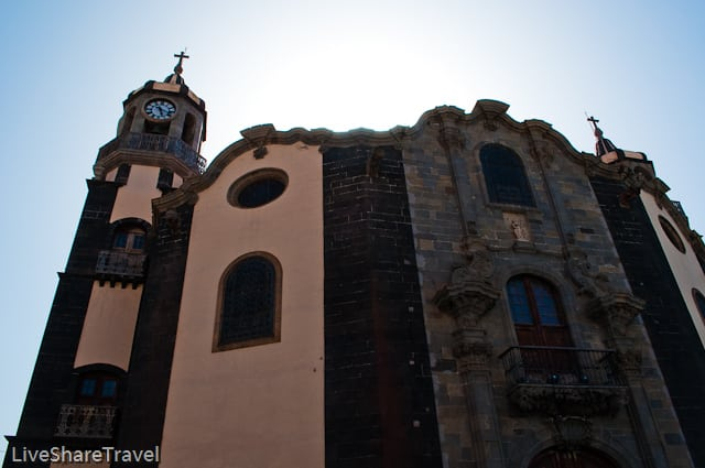 Iglesia de la Concepcion, is the most impressive of churches in La Orotava, Tenerife