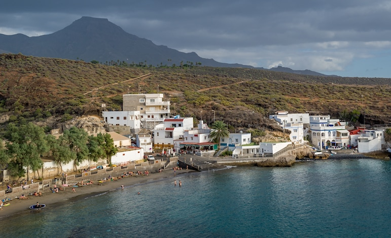 Playa el Puertito, one of the best places to visit in Tenerife