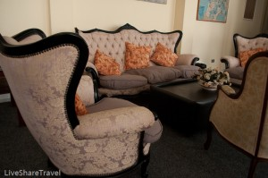 Pull up a chair at the library at Club Casablanca a timeshare resort