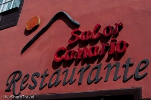 Sabor Canario for a taste of Canary Island cooking, La Orotava, Tenerife