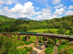 Travel by train to discover Australia