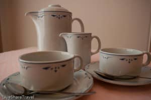 Time for tea at Club Casablanca a timeshare resort