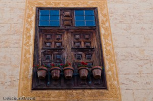 Window of Casa Ponte Fonte in La Orotava, Tenerife