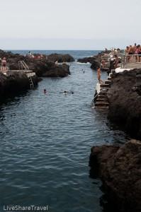 El Caleton, Garachico's rock pools