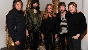 Hollywood A listers were entertained by Kasabian at Mulberry's 40th anniversary party