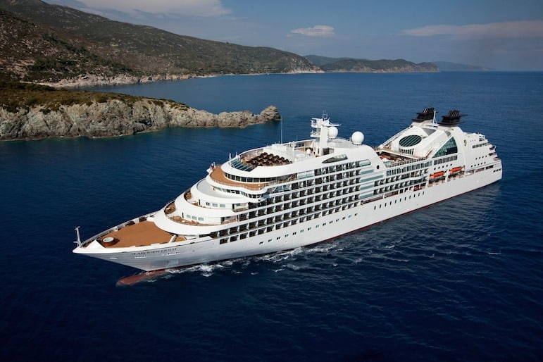 Seabourn Quest an new ultra luxury cruise ship