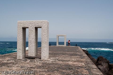 The Door Without Door on Garachico's seafront, one of Tenrife's northern delights