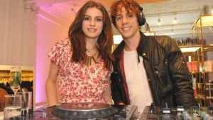 Vogue Fashion Night Out saw celebrity DJs Tali Lennox and Jonny Borrell hit the decks