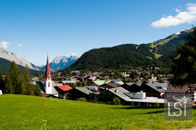 Austrian Spa town of Seefeld