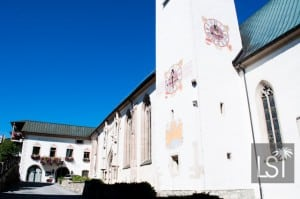 St Oswald Church in the Austrian Spa town of Seefeld