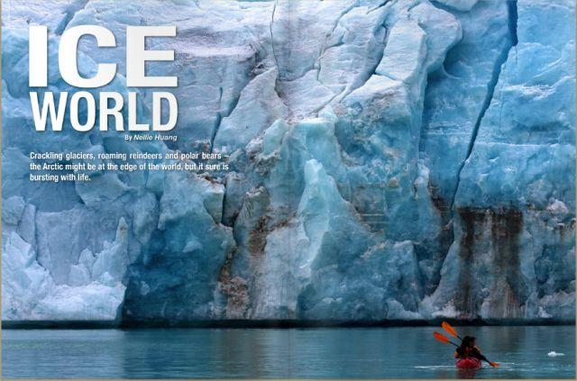 Online travel magazine Wild Junket features unusual destinations such as the Arctic