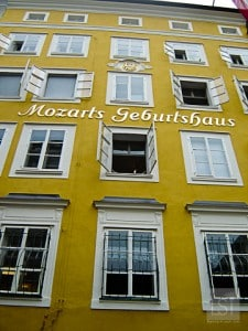 Things to do in Salzburg - Mozart's birthplace