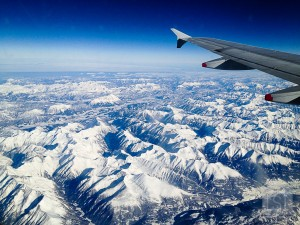 View from a plane - why I love the window seat