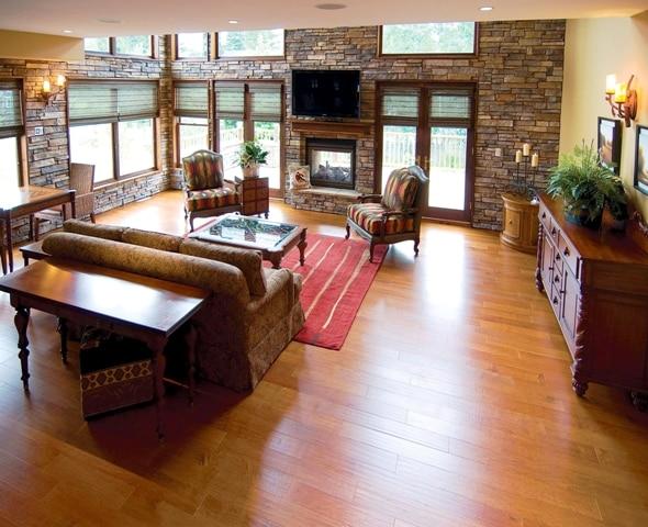 EllicottVillas Living Room, Preferred Residences