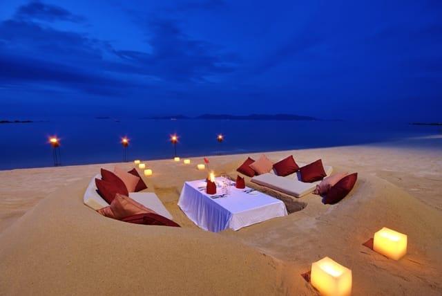 Ban Tai Beach, fine dining