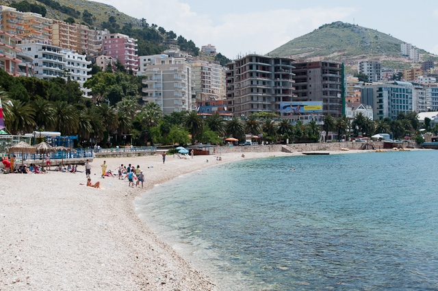 Beachfront in Saranda
