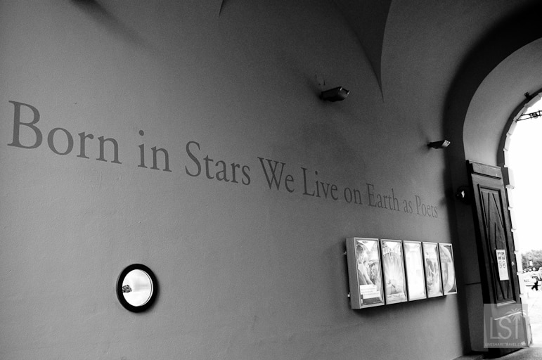 Born In Stars We Live On Earth As Poets at Vienna's Musuem Quartier