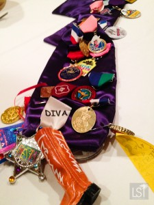 Fiesta medals galore on this sash