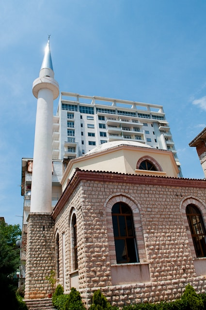 Mosque in Saranda