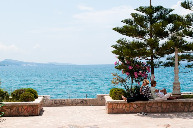Relaxing in Saranda is just one reason to travel to Albania