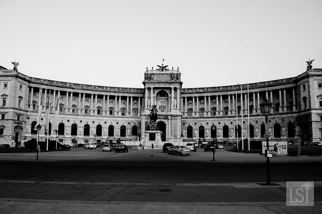 The Hofburg Palace is huge enough to fill a panoramic shot-2