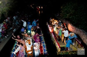 The Texas Cavaliers River Parade during San Antonio Fiesta