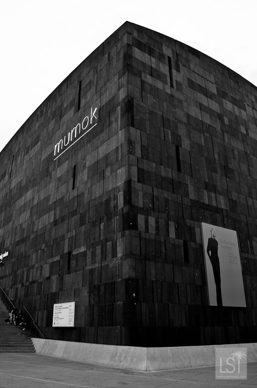 The shape of modern art in Vienna at the Mumok