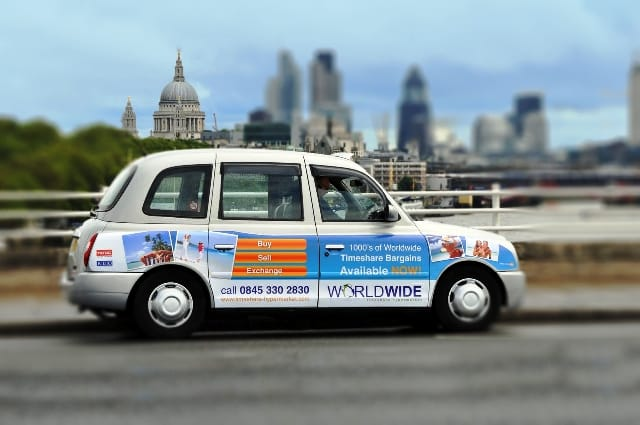 Worldwide Timeshare Hypermarket taxis near St Paul's Cathedral