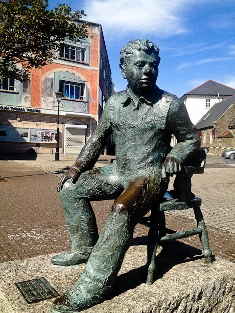 Author, playwright and actor Dylan Thomas made his mark on Wales' history
