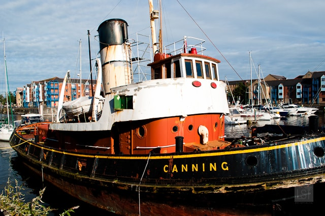 Steam tug the Canning - revealing a little of the history of Wales