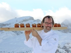 Gourmet food hits the slopes