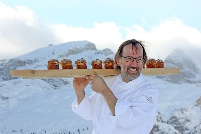 Norbert Niederkofler will be serving up gourmet food on the slopes in Alta Badia, Italy