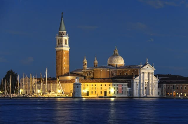 Nightfall in Venice a city for a waterbound holiday exchange